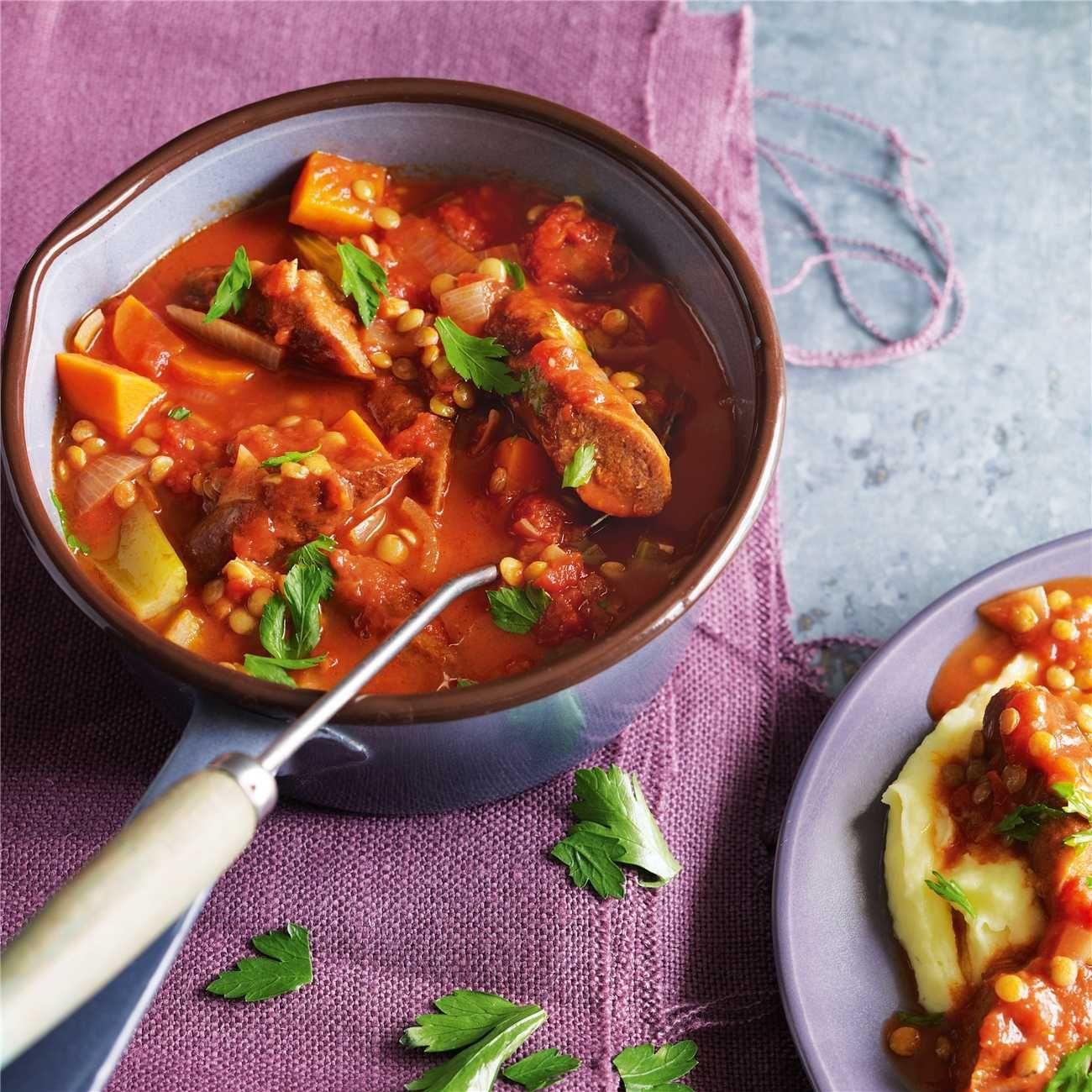 Glutenfree sausage hot pot recipe food recipes food