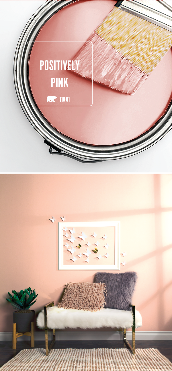 Trend color spotlight positively pink colorfully behr