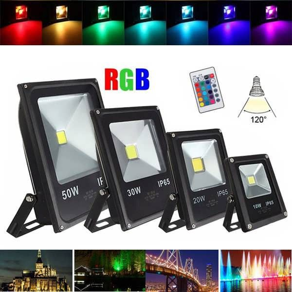 10w20w30w50w waterproof ip65 rgb led flood light outdoor garden 10w20w30w50w waterproof ip65 rgb led flood light outdoor garden security mozeypictures Gallery