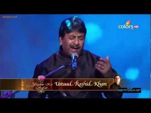 Yaad piya ki aaye - Ustad Rashid Khan - HD - Thumri - YouTube