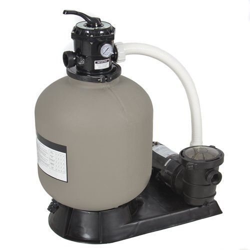 19 Sand Filter System 1 5 Hp Swimming Pool Pump With Hoses And Clamps Above Ground Pool Pumps Pool Pump Pool Sand