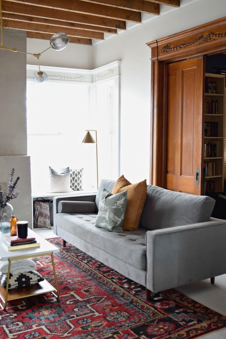 Modern Victorian Living Room Reveal | Houseologie