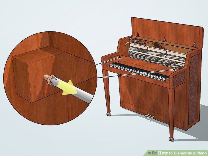 How to dismantle a piano in 2020 piano piano crafts