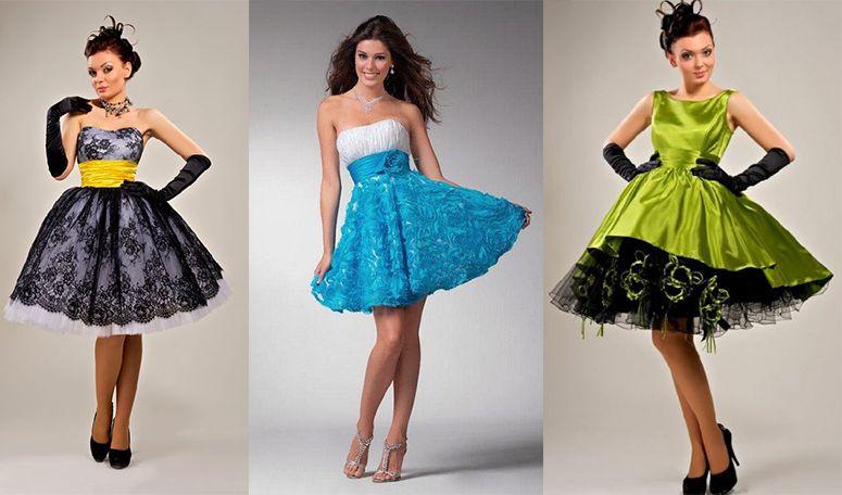 9c12e512e7b Платья в стиле стиляг (61 фото)  на выпускной