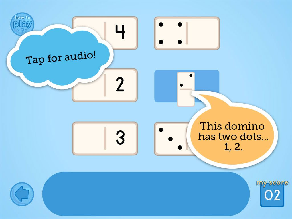 Dominoes Easy Match