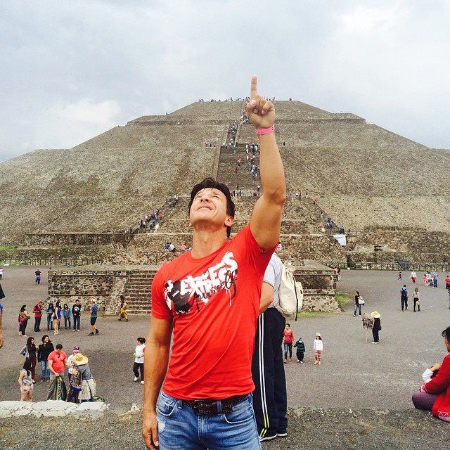 10-7-14 Mexico. Beto Perez. Thank God for letting me enjoy this beautiful country @zumbawearcrew @zumbacommunity #muscle & Fitness #muscle & Performance #bodybuilding #6packabs #mensmuscleandhealth #arms #Naturalmuscle #ironman #fitness & Health #tank #mensfitness #effort # fit4life #instafit #tagsforlikes #instarunner @ b2studuioboutique @zumba B2 studio Boutique