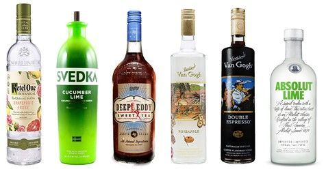 In the past flavored vodkas were looked down upon- it's ...