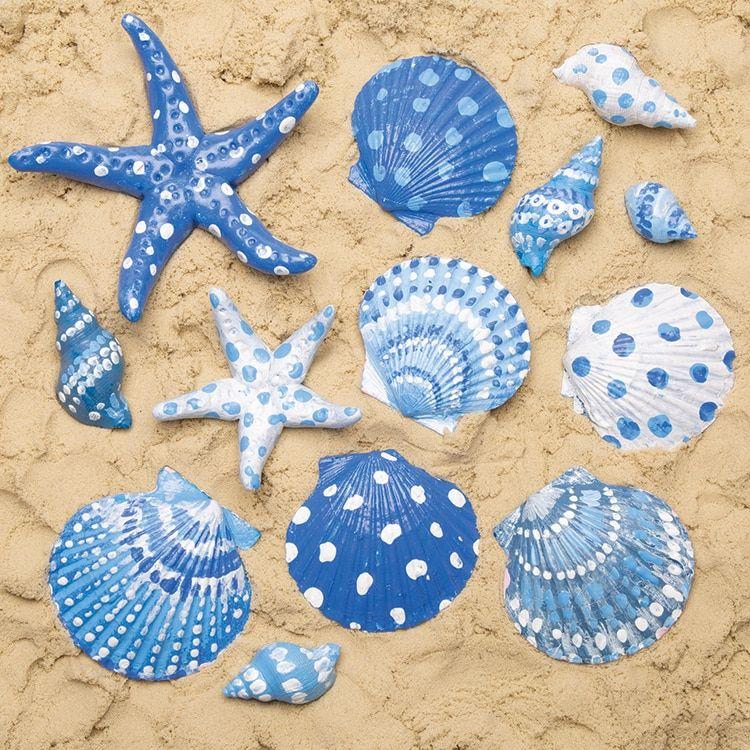 Painted Sea Shells | Free Craft Ideas | Baker Ross