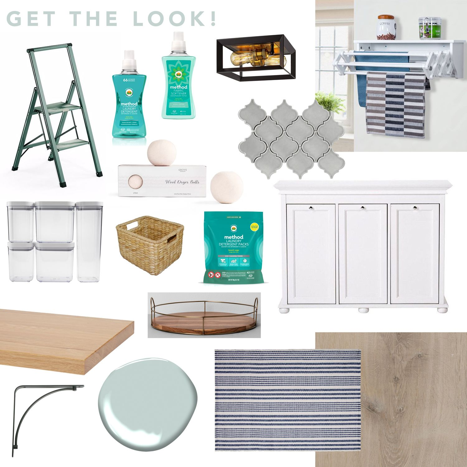 Grove X Method Laundry Room Makeover Reveal Laundry Room Makeover Room Laundry Room