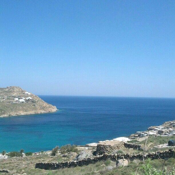 Todos os azuis gregos (Mykonos, Grécia)