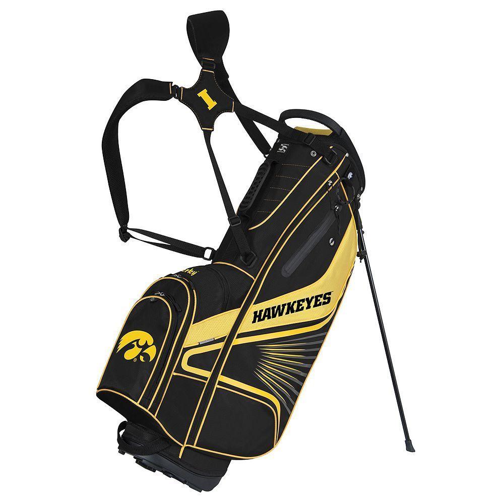 Team Effort Iowa Hawkeyes Gridiron III Golf Stand Bag 5a32a4153