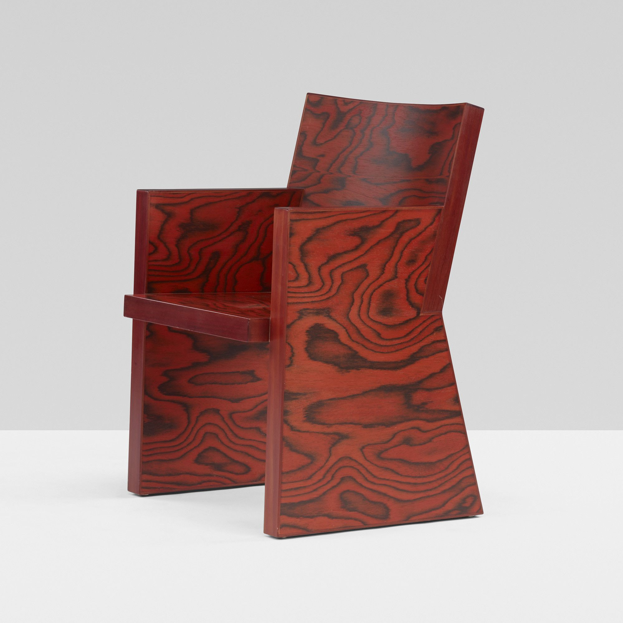 ettore sottsass in praise of epicurus chair renzo
