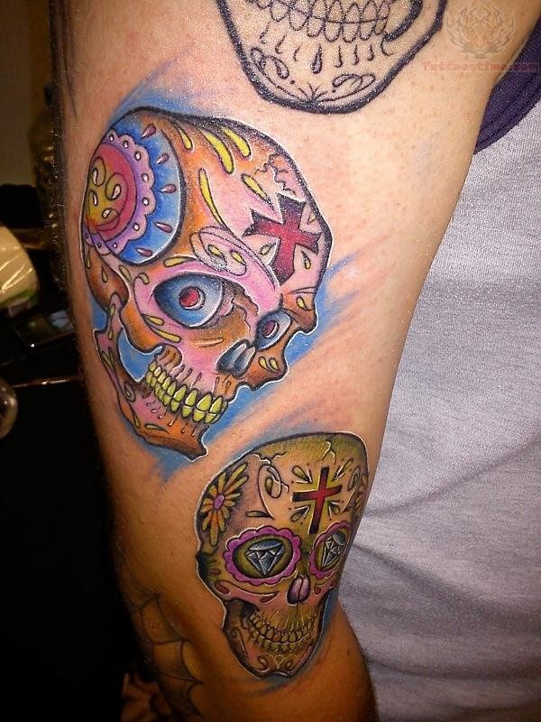 85 Scary Skull Tattoo Designs To Ink Tattoos And Stuff Pinterest