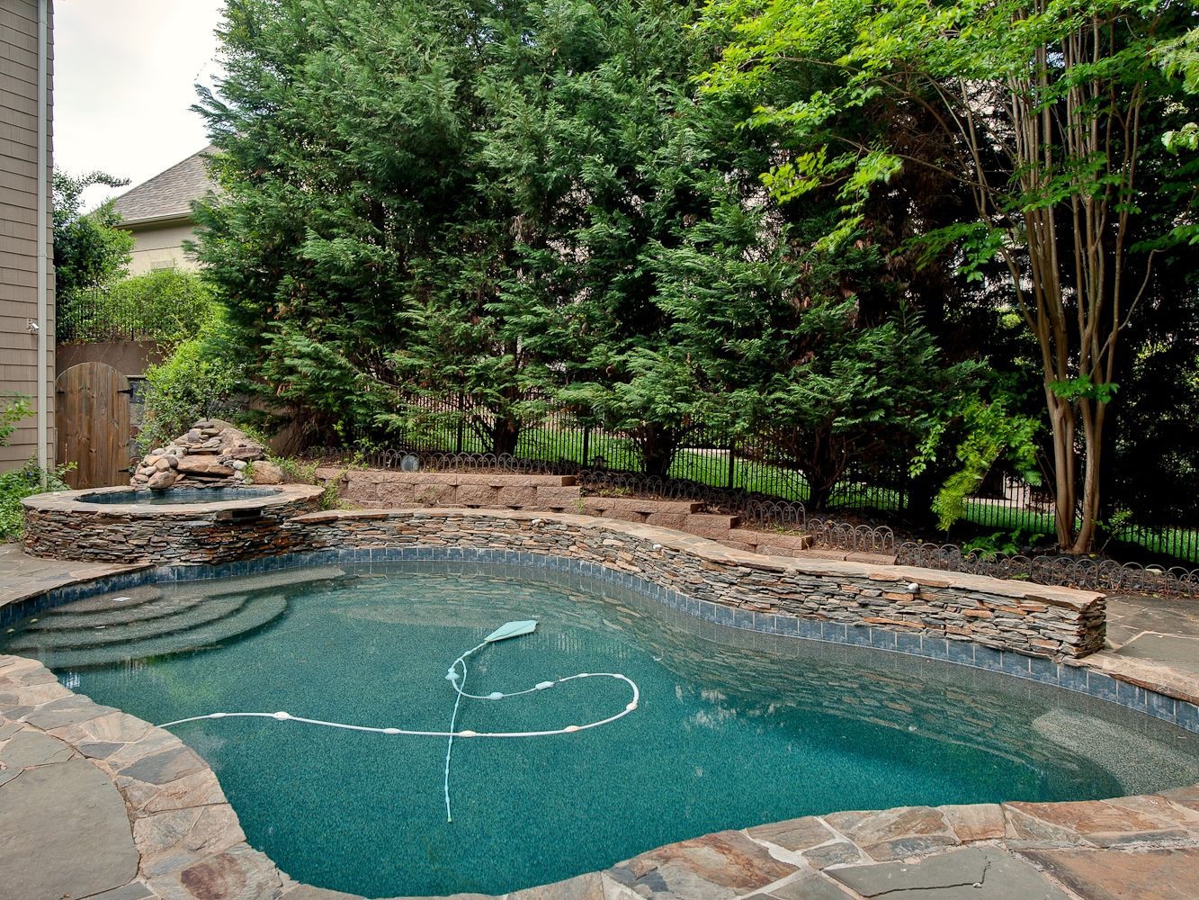 Pool & Landscape - Before | Pool landscaping, Dream pools ... on Dream Backyard With Pool id=22444