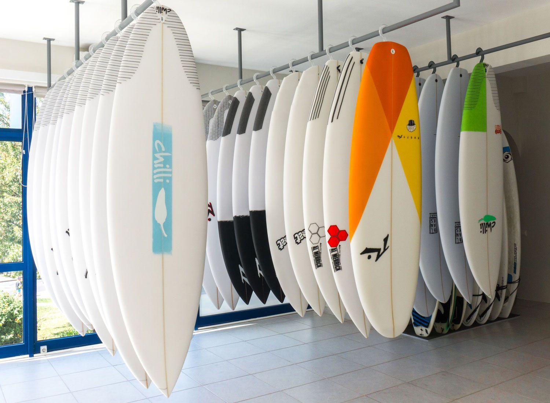 Surf Shop In Lagos Algarve Portugal Surfboard White Surfboard Surfing