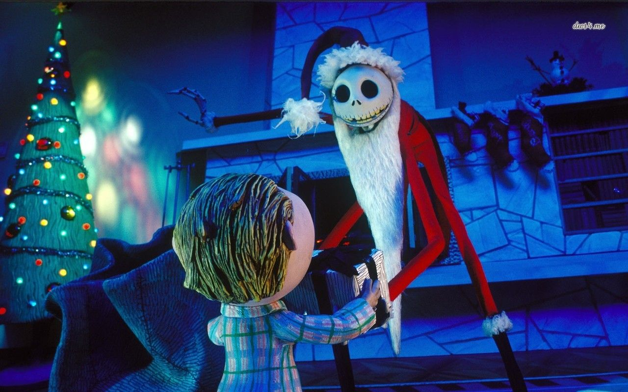 Nightmare Before Christmas Hd Wallpaper Nightmare Before