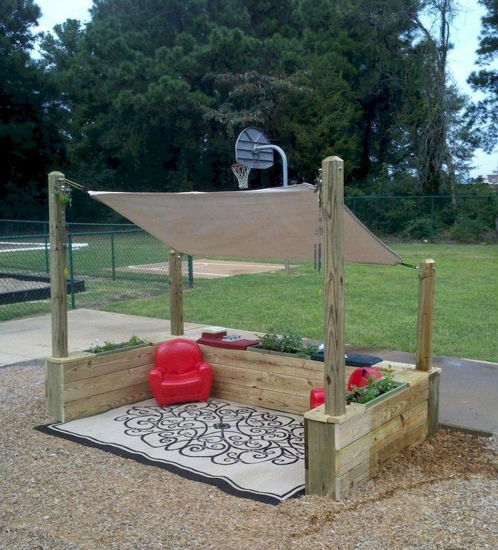 46 Exciting Small Backyard Playground Kids Design Ideas In