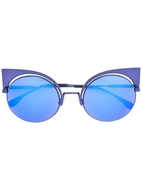 b07c29cde4 Shop Fendi Eyeshine sunglasses. Fendi Eyewear