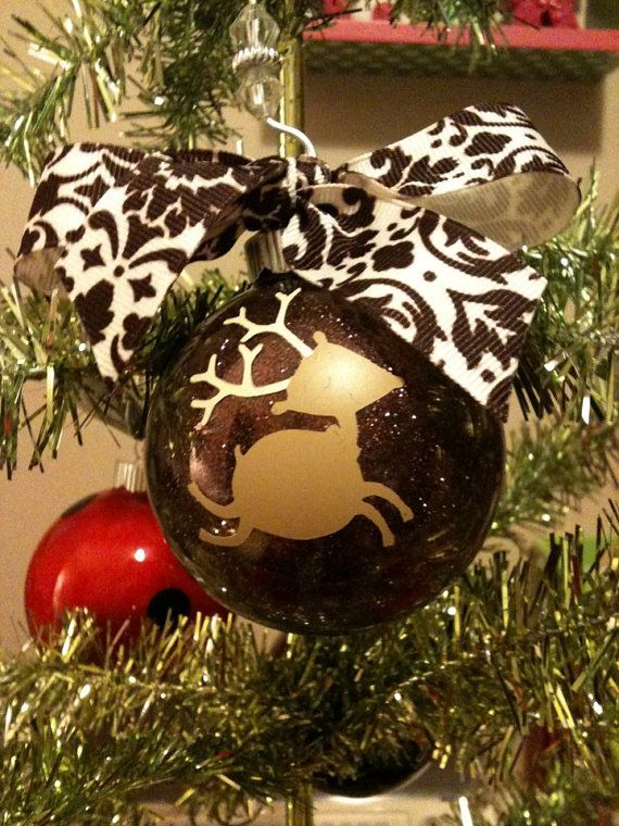 Personalized Large Christmas Ornament by CocosCreationsGifts, $8.00