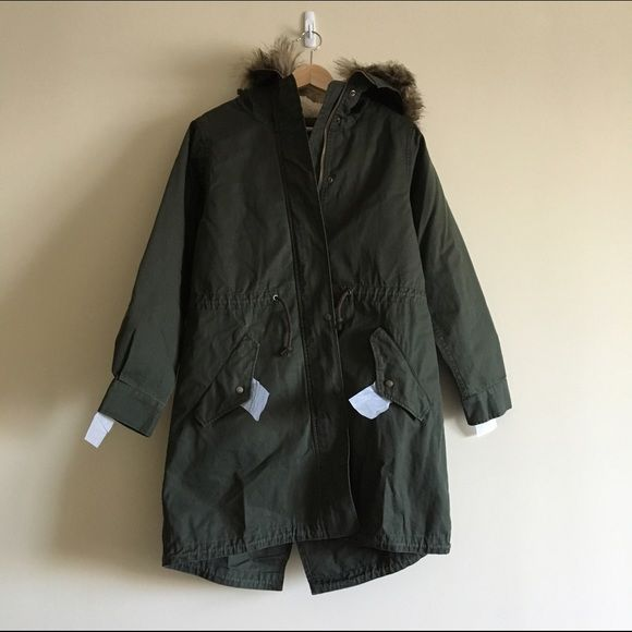 Uniqlo military coat