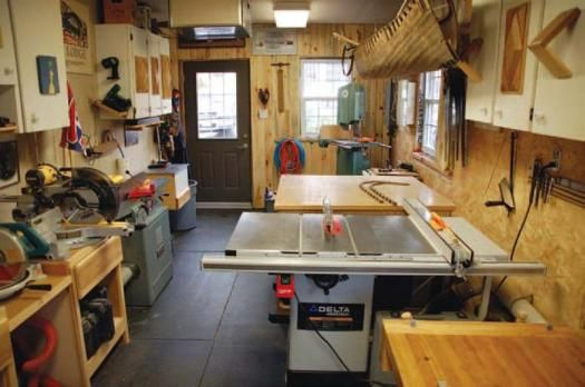 Woodworking shop layout google search workshop setup for Small woodworking shop floor plans