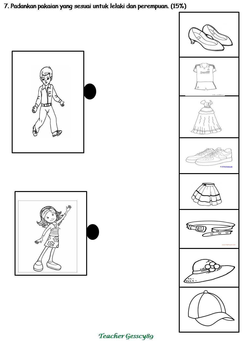 Collection Of Worksheet Preschool Bahasa Melayu