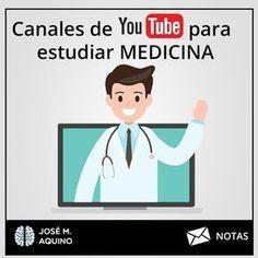 Existen muchos canales en youtube con clases sobre medicina, acá te comparto un listado de 5 canales que he visitado y me han ayudado a comprender mejor