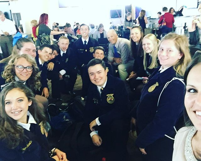And we are off! Indiana here we come!! #transformffa