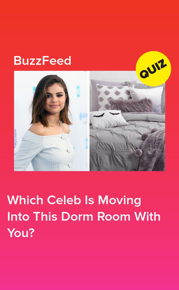 Decorate Your Perfect Dorm Room And We'll Reveal Who Your Celebrity