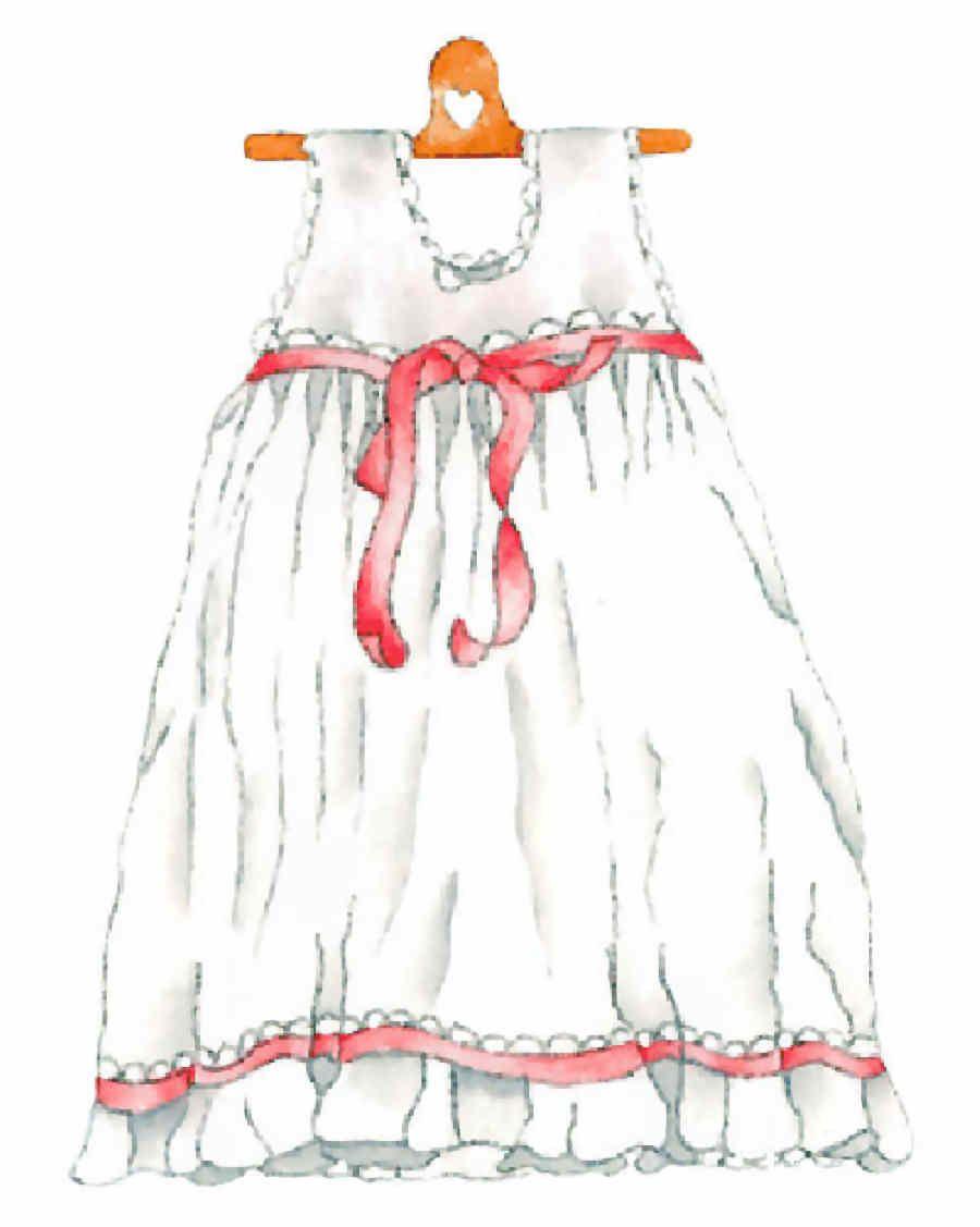 Ropa De Bebes Ilustraciones Paper Dress Baby Clip Art Clothes