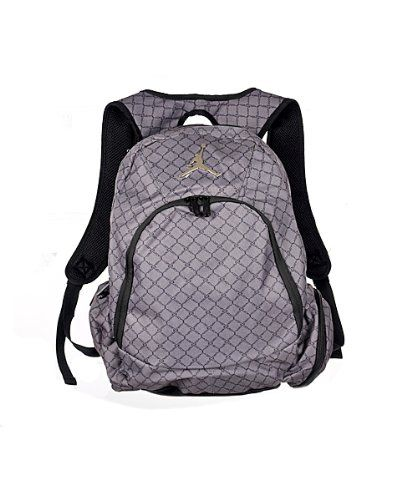 3890578df27694 Jordan Nike Graphite Backpack Laptop Sleeve protection Audio Pocket ...