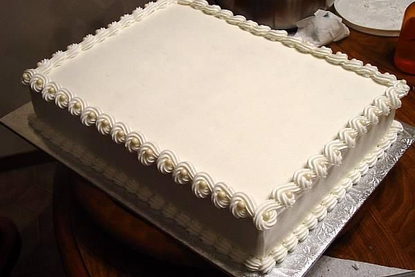 Costco Sheet Cake Decorated For Wedding