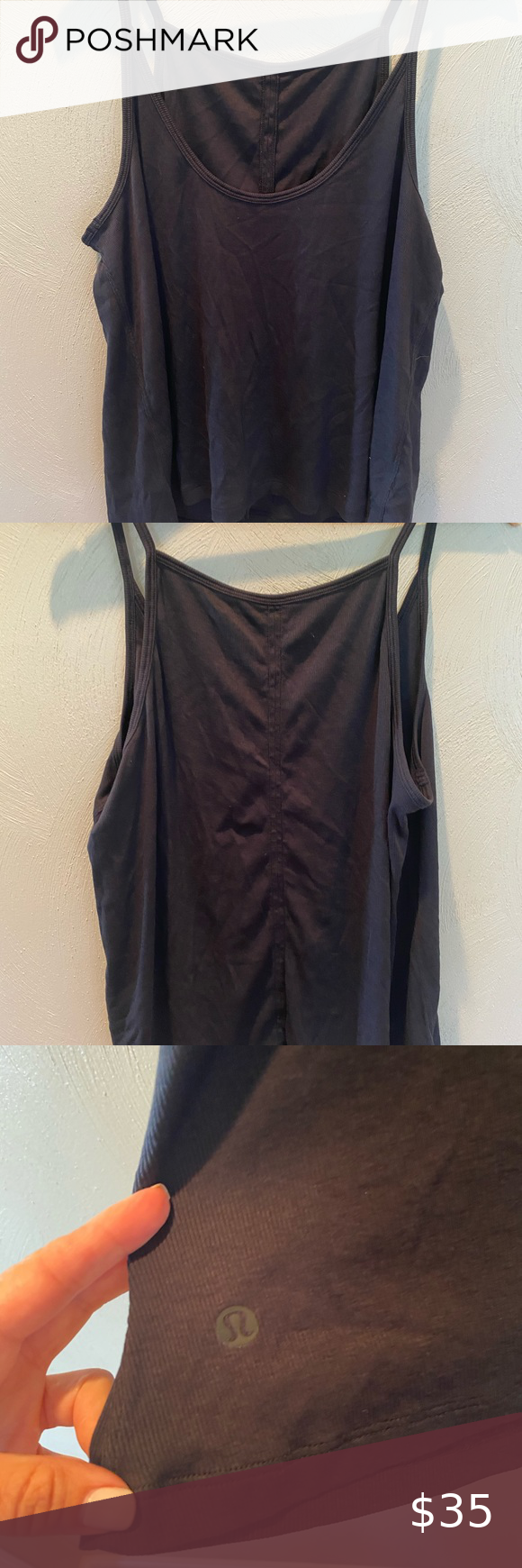 Lululemon back bend tank EUC
