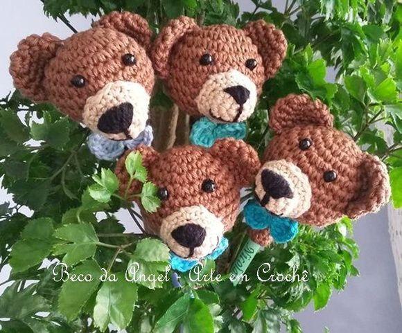 Colorful Amigurumi Bears | 481x580