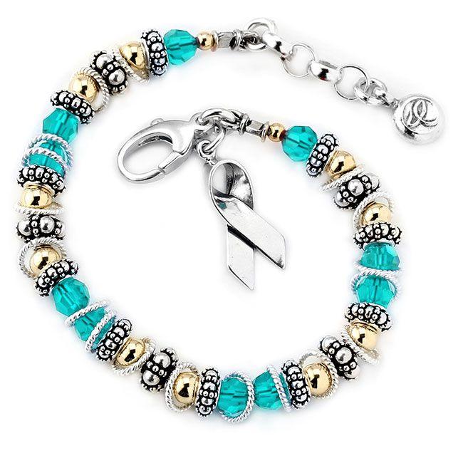 Ovarian/Cervical/Uterine Cancer - Spectacular Awareness Bracelet