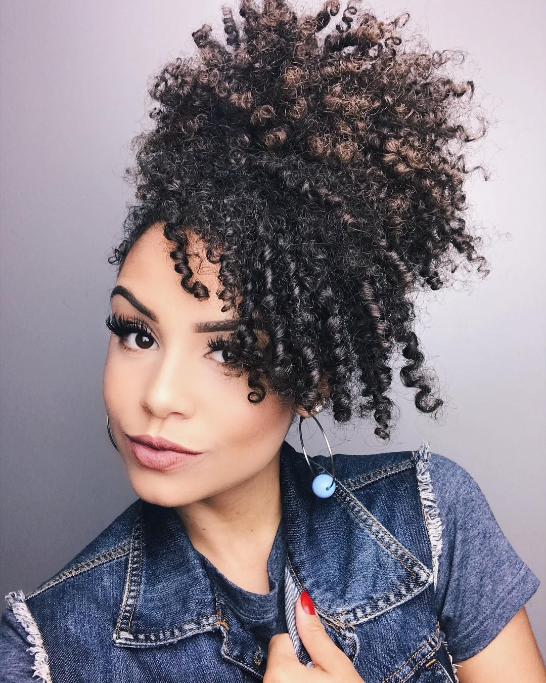 Instagram a and c type natural hair pinterest hair curly