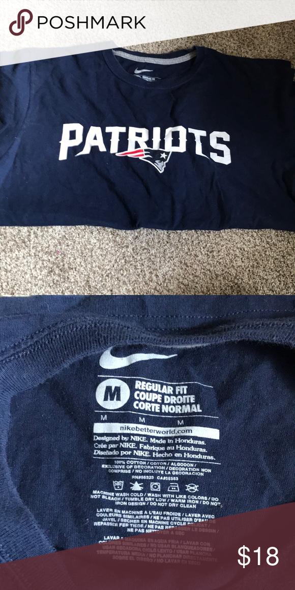 Men S Nike Patriots T Shirt Nike Shirts Clothes Design Shirts