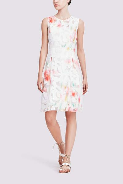 Elie Tahari Dorinda Dress In Fil Coupe