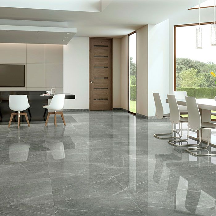 Mura Pearl marble effect porcelain tiles in 2020 | Marble ...