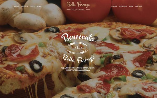 Bella Firenze Restaurant Template By Petiakoleva Restaurant Food Firenze