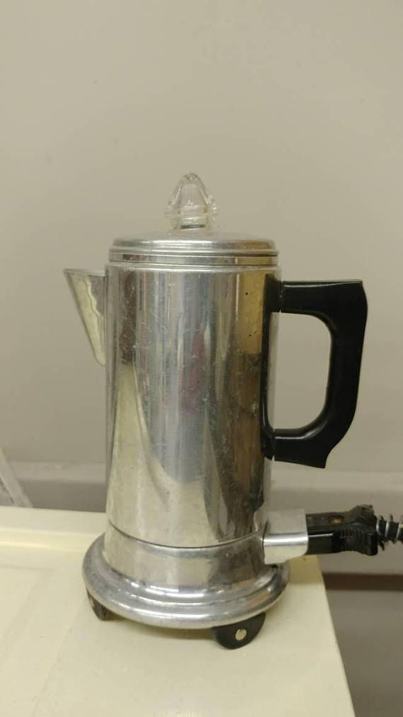 Vintage Small Coffee Percolator Working Condition Products