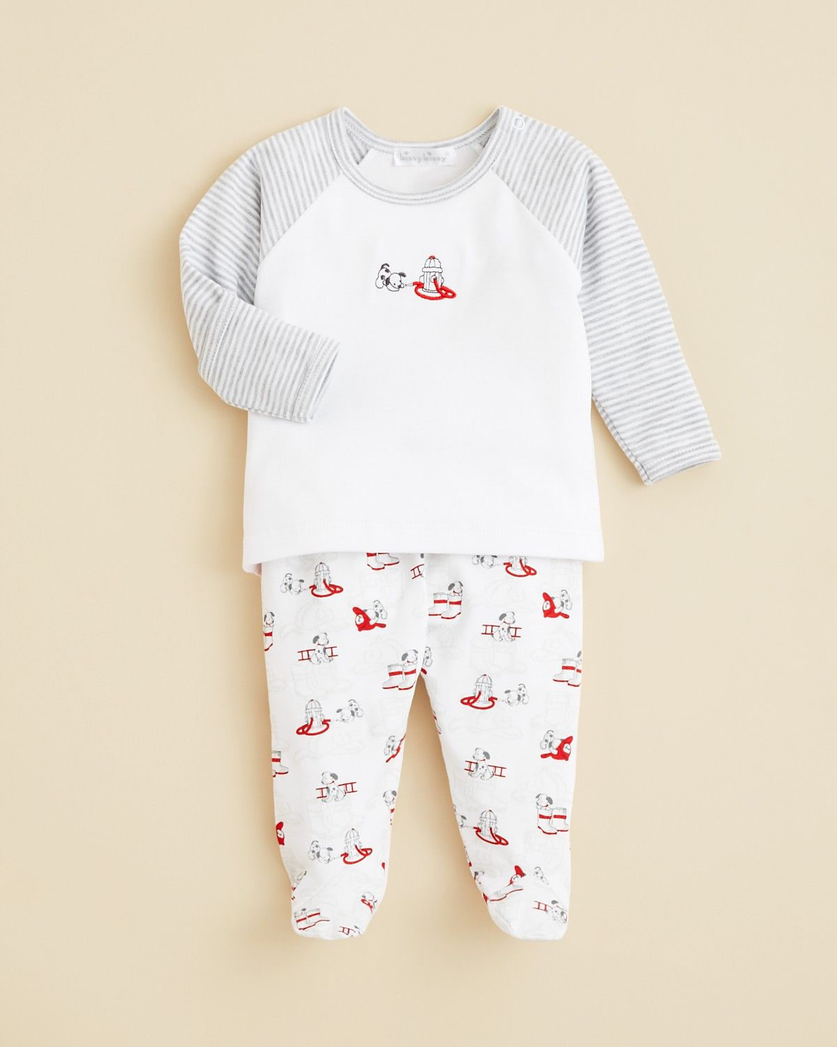 2a19ef27c Kissy Kissy Infant Boys  Dog Top   Footed Pants Set - Newborn-6 9 ...