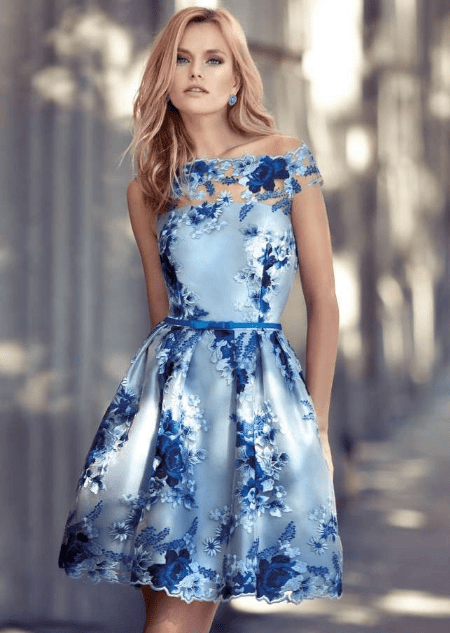 size 40 801a4 e8833 Vestito azzurro | idee abiti nel 2019 | Vestiti, Stile di ...