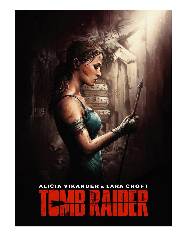 Tomb Raider (2018) [1192 x 1507] Tomb raider, Tomb