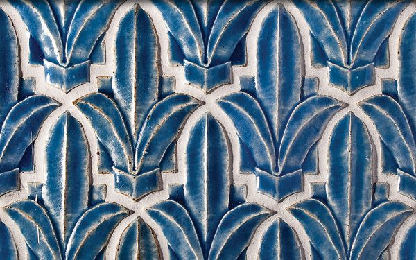 Fleur De Lis Cut Out Tile from the Alhambra Collection, via @Elizabeth Lockhart Lockhart Cassinos Floors