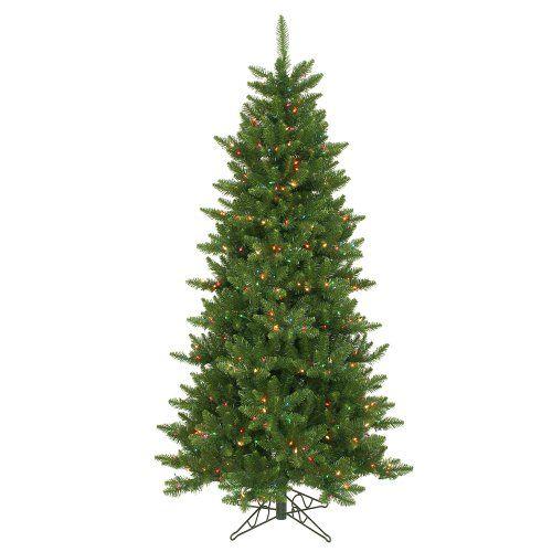 6.5′ Pre-Lit Slim Camdon Fir Artificial Christmas Tree – Multi Color Lights  http://www.fivedollarmarket.com/6-5-pre-lit-slim-camdon-fir-artificial-christmas-tree-multi-color-lights/