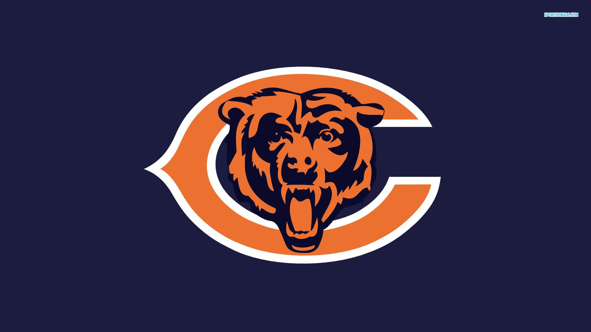 Chicago Bears Chicago Bears Wallpaper 1920x1080 Chicago Bears Logo Chicago Bears Wallpaper Sports