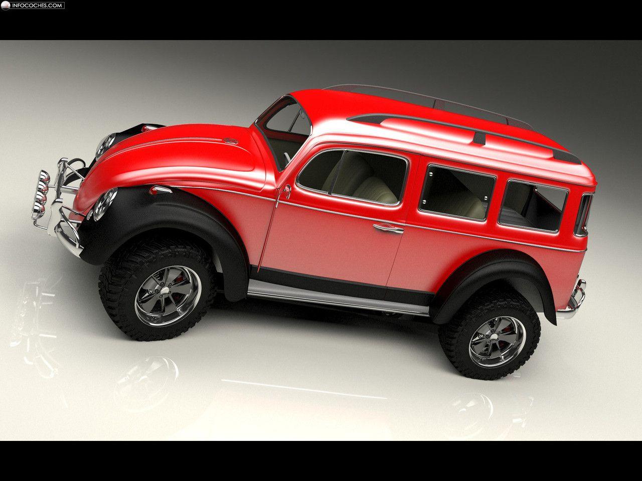 fotos del bo zolland volkswagen beetle 4x4 5 6 concept cars pinterest beetles 4x4 and. Black Bedroom Furniture Sets. Home Design Ideas