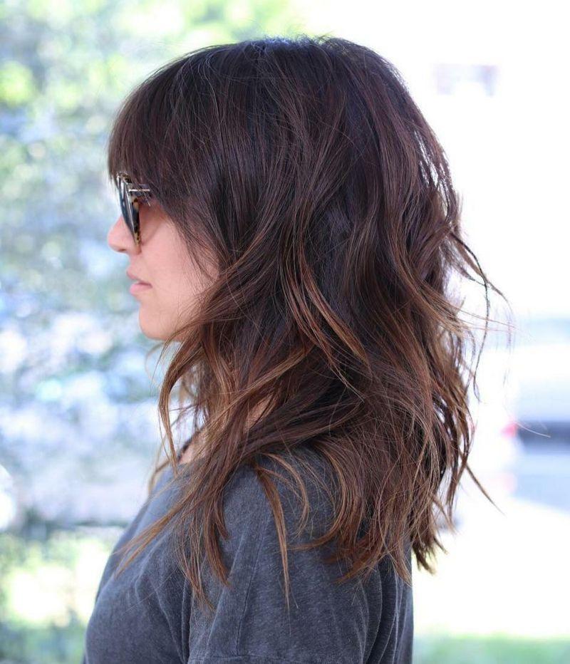 Der Sichere Weg Zu Langen Haaren Fur Frauen Die Ihre Haare Wachsen Lassen Mochten Zeigen Wir 10 Hubsche Ubergangsfris Haarschnitt Frisuren Ubergangsfrisuren