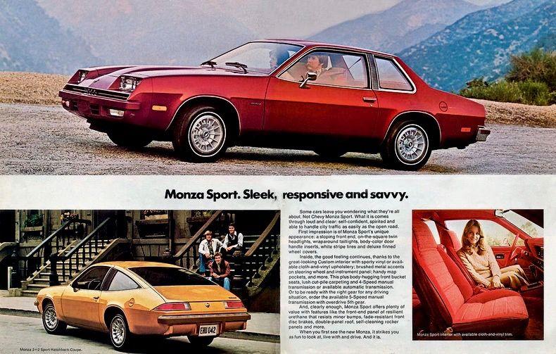 1978 Chevy Monza Chevrolet Monza Chevrolet Monza